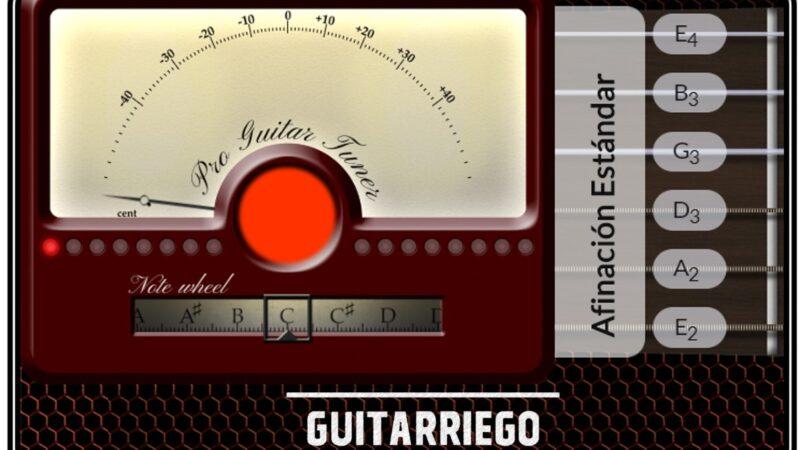 Afinador de guitarra online gratis: afina tu guitarra fácil
