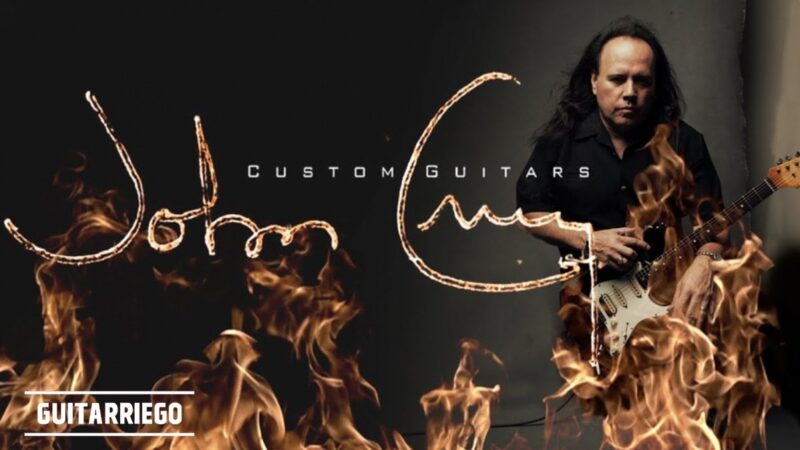 John Cruz Custom Guitars, the new brand of the former Fender luthier