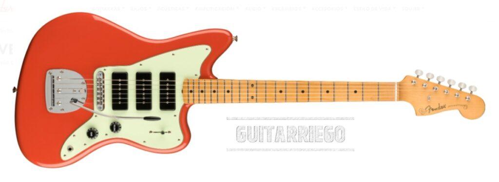 Fender Jazzmaster Noventa Series en Fiesta Red