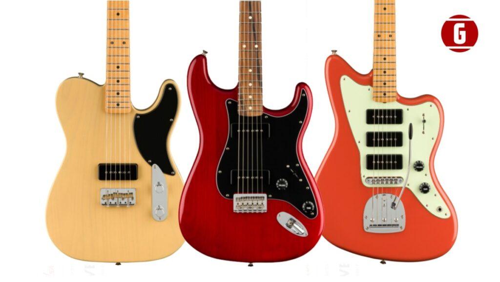 Fender Noventa: nuevas Stratocaster, Telecaster y Jazzmaster con P90