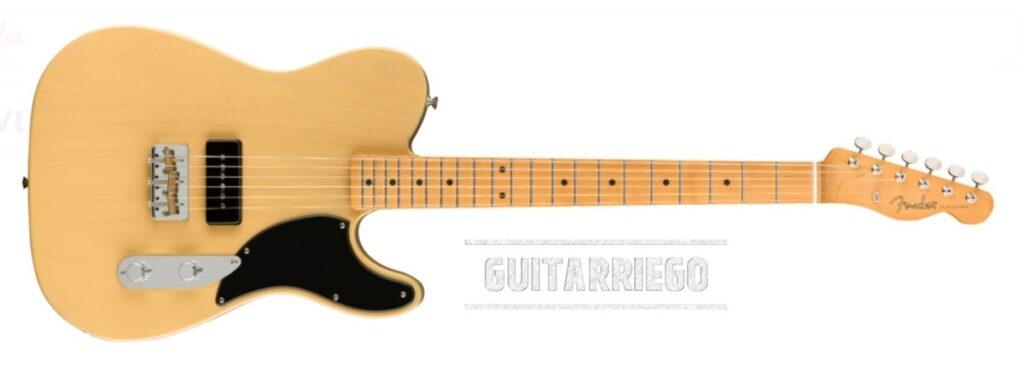 Fender Telecaster Noventa Series en Vintage Blonde