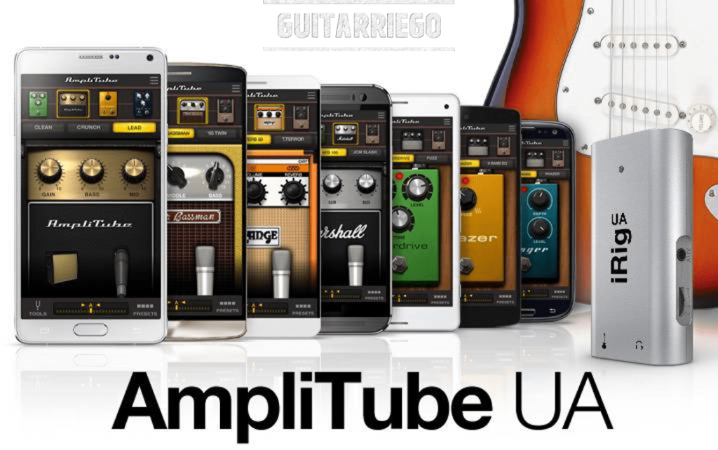 AmpliTube, one of the best guitar apps.