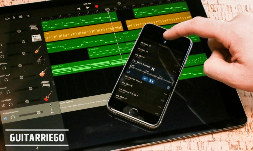 Music Memos is an app for musicians that will turn a simple guitar recording into a band.