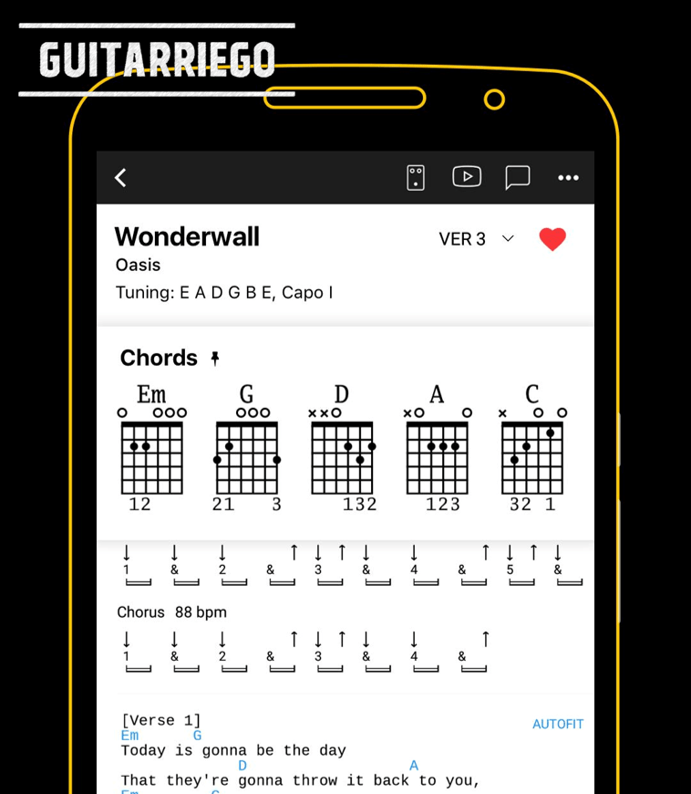 Ultimate Guitar: Chords & Tabs has over 1 million guitar tabs and chords.