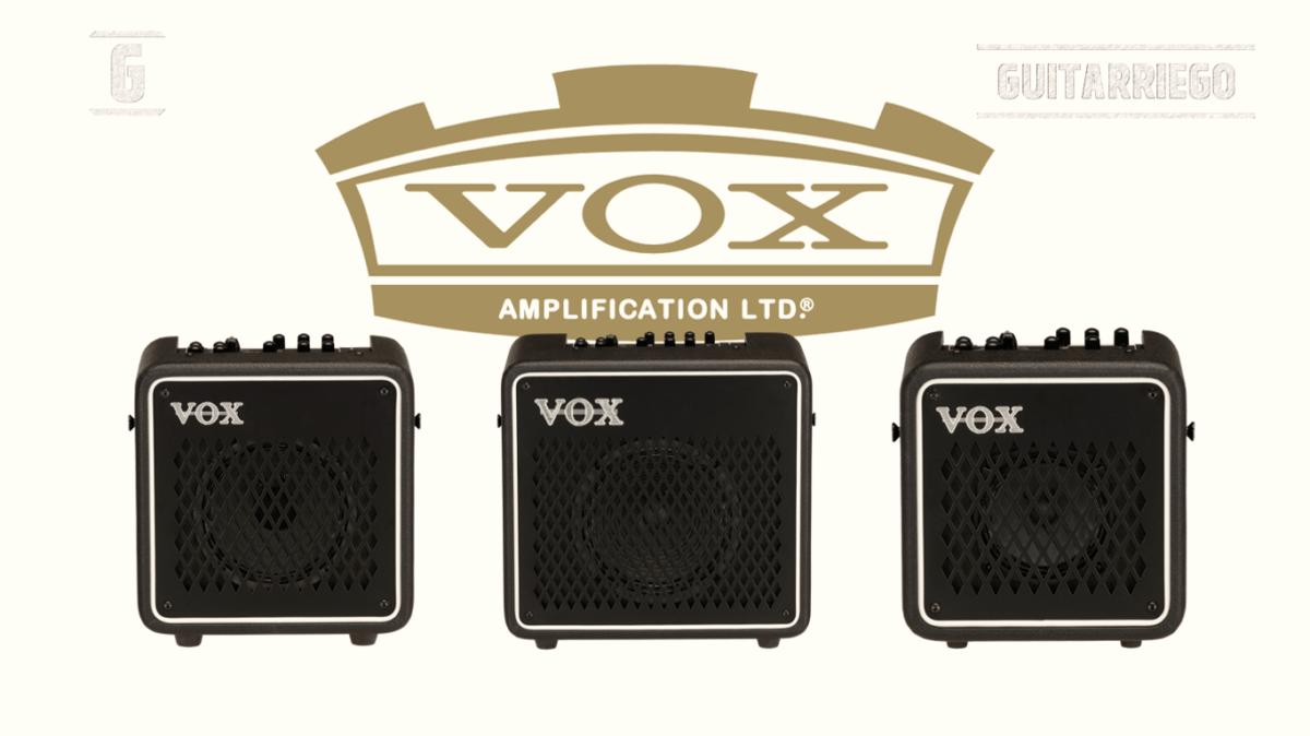 Vox Mini Go: Nouveaux amplis à modélisation numérique