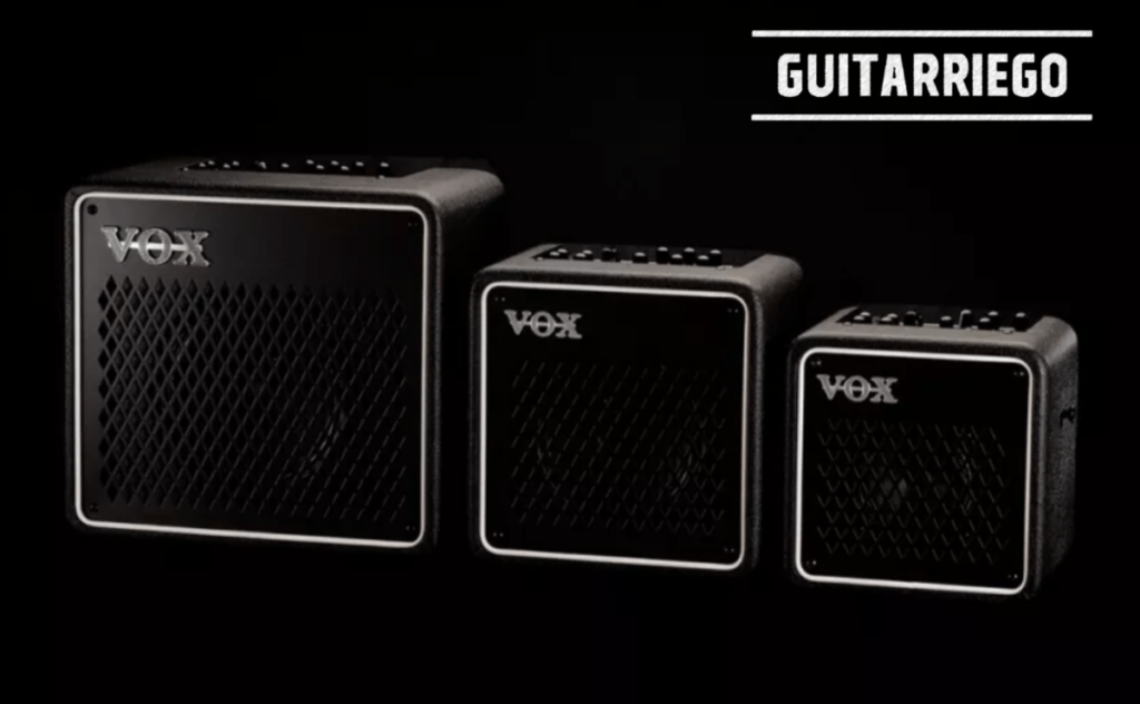 Vox Mini Go 3, 10 and 50 with VET digital modeling technology.