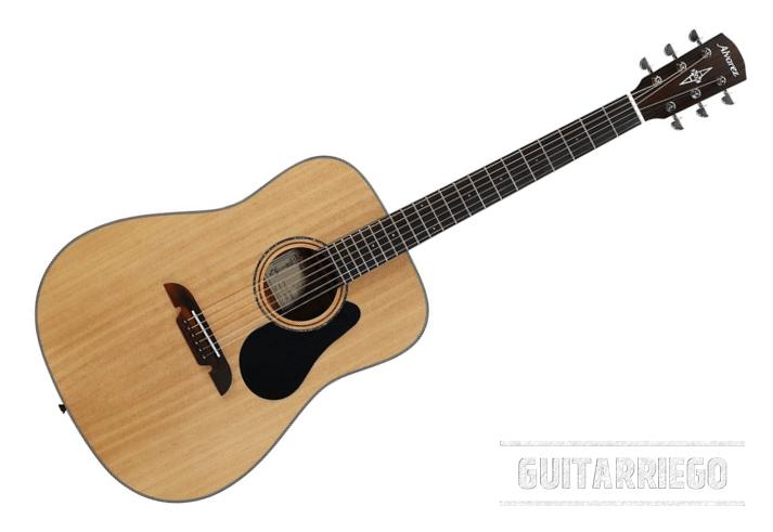 Alvarez AD30: Leistungsstark, vollständig und kostengünstig, eine großartige Akustikgitarre für Anfänger.