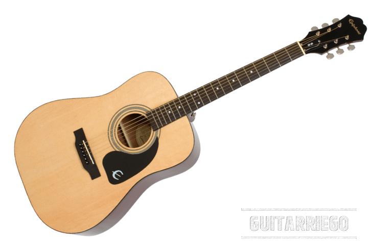 Das Epiphone DR100 ist die billigste Akustikgitarre für Anfänger mit guter Verarbeitungsqualität und großartigem Klang.