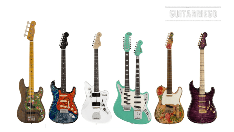 Fender Custom Shop presenta la nuova 2021 Prestige Collection