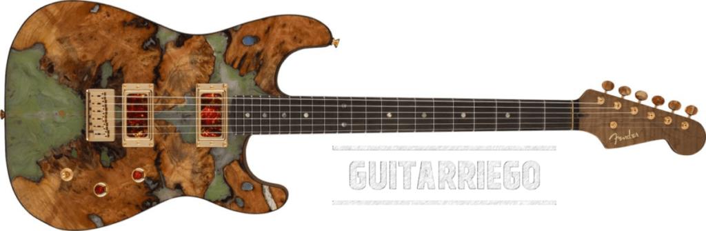 Fender Custom Burled Redwood Strat - Kyle McMillin