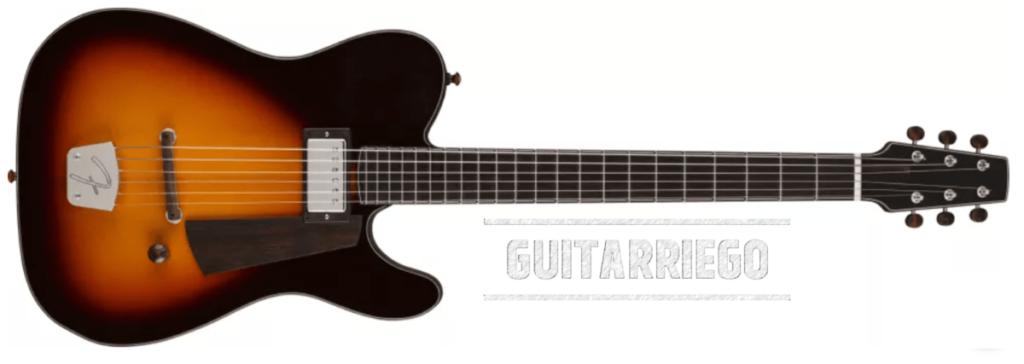 Jazz Telecaster de Chris Fleming es un tributo al arte de la guitarra de jazz estilo bebop.