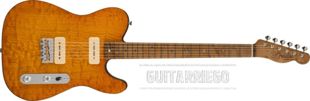 Fender Tamo Ash Tele - Greg Fessler de la 2021 Custom Shop Prestige Collection.