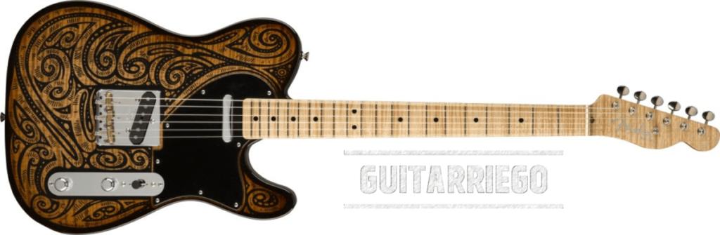 Fender Tapestry Telecaster - Dale Wilson, una Tele Maestro Constructor única.