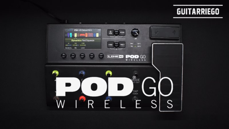 "Line 6 Pod Go Wireless: the new ""cable free"" pedalboard"