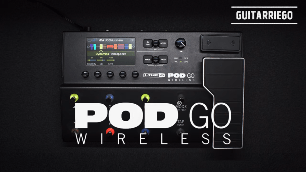 Line 6 Pod Go Wireless: a nova versão da pedaleira clássica