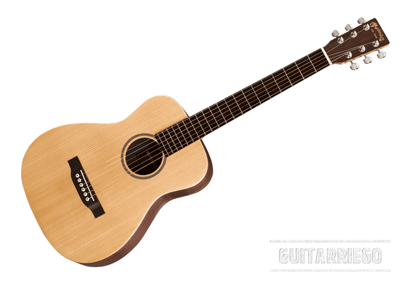 Martin LX1E Little Martin, klassischer und ausgewogener Sound mit vielseitiger Verwendbarkeit für diejenigen, die eine hochwertige Akustikgitarre suchen, die leicht zu transportieren ist.