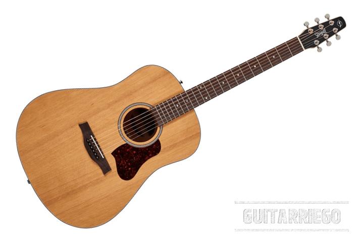 Seagull S6, überlegene Qualität in einer einfachen, langlebigen Akustikgitarre, die für Anfänger und Fortgeschrittene geeignet ist.