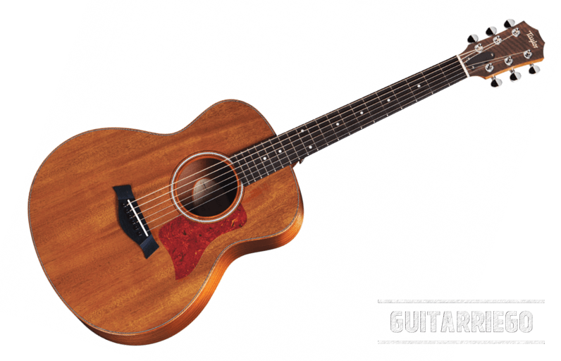 Taylor GS Mini Mahogany, ein billiges Modell eines der großen Hersteller von Akustikgitarren, ein großartiges Instrument für Anfänger.