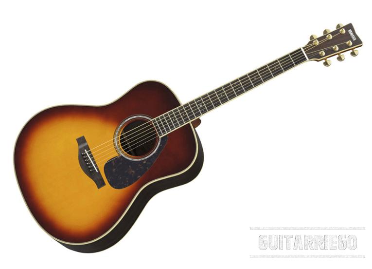 Yamaha LL6 ARE, die beste Akustikgitarre für Anfänger, klassisch und komplett.