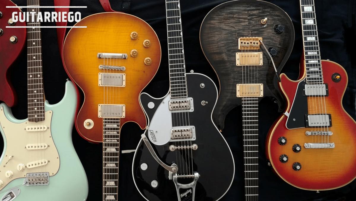 Guitarras e baixos canhotos: oferta, acessibilidade e muito mais