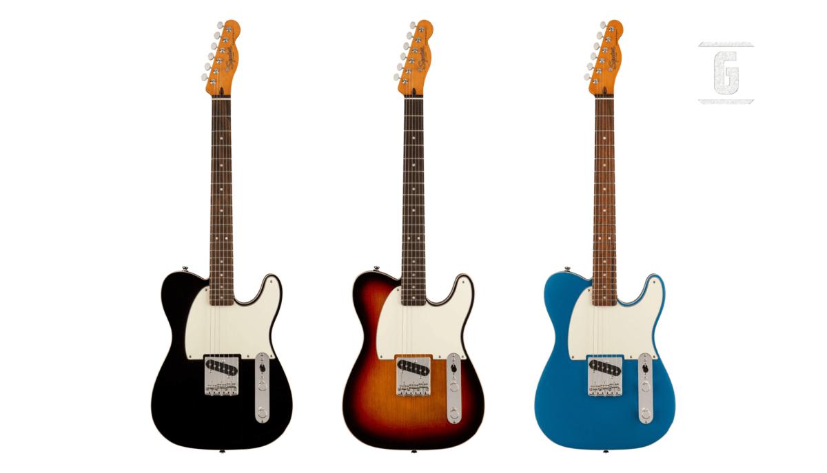 Neue Squier FSR Classic Vibe 60s Esquire Custom Gitarre