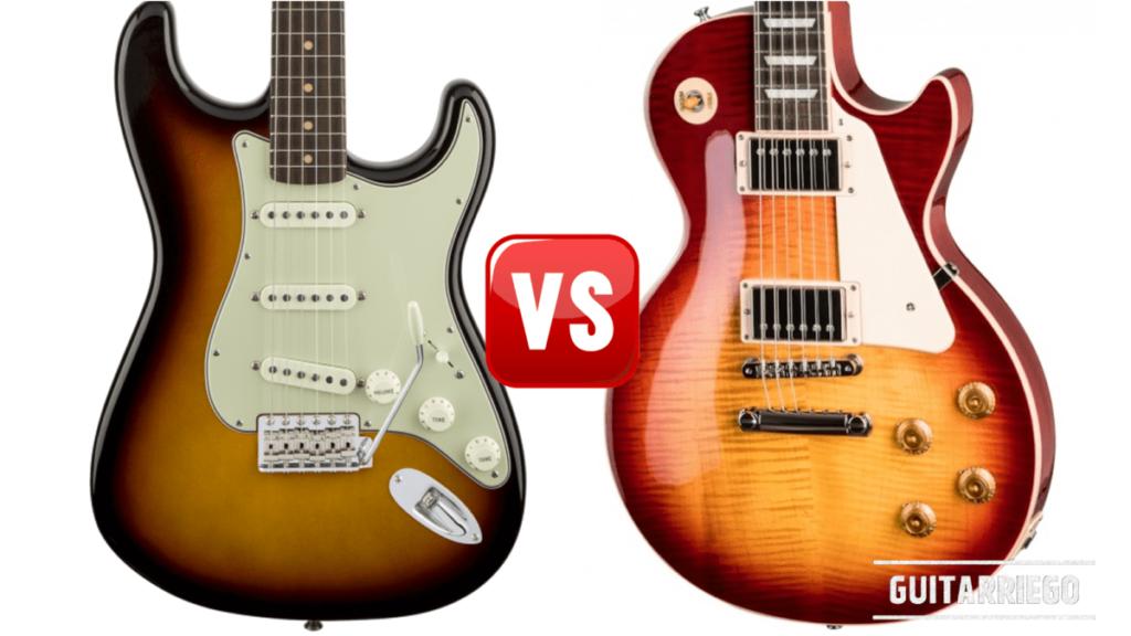 Fender vs Gibson: Stratocaster y Les Paul, diferencias.