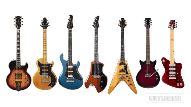 Gibsons Misserfolge: hässliche, seltsame und ungewohnte Gitarren