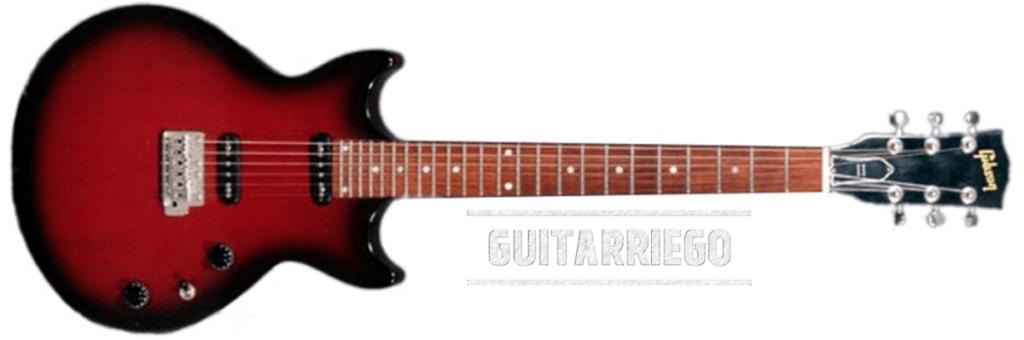 La Gibson All American II a été fabriquée entre 1996 et 1998.