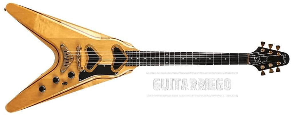 Gibson Flying V-II, fabriquée entre 1979 et 1982.