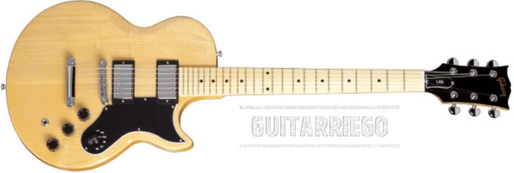 Gibson L-6S, fabriqué en 1972 par