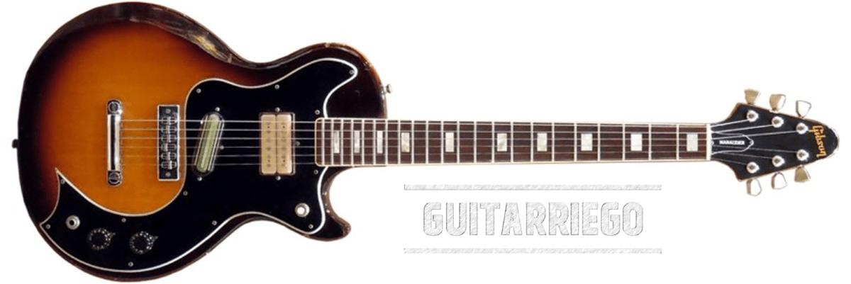 La Gibson Marauder a été fabriquée entre 1974 et 1980.