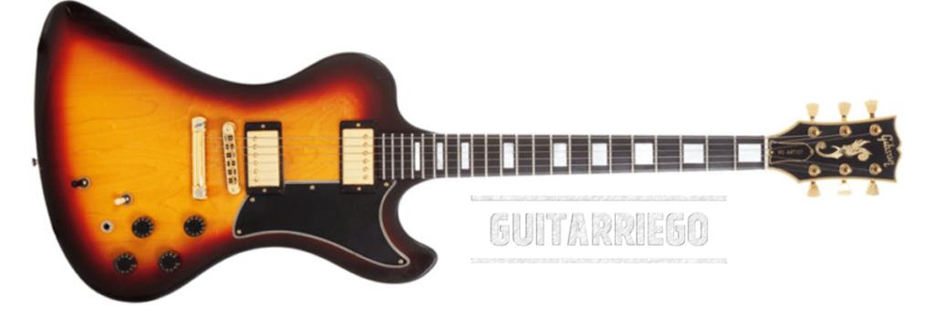 La Gibson RD Artist a été fabriquée entre 1977 et 1982.