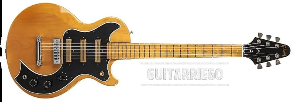 La Gibson S-1 a été fabriquée entre 1975 et 1980.