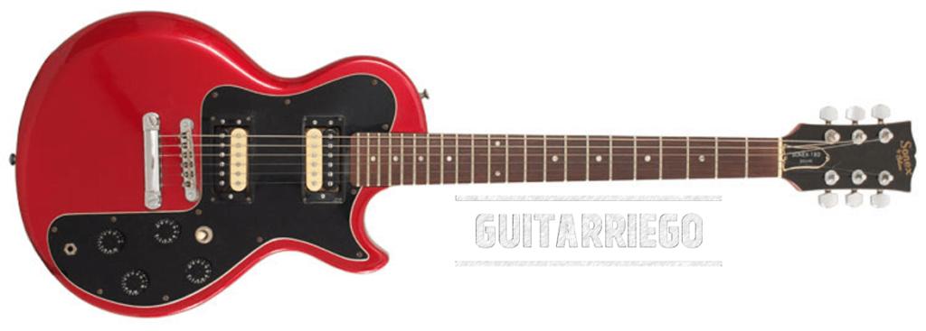Gibson Sonex 180 Series fabriqué entre 1981 et 1984.