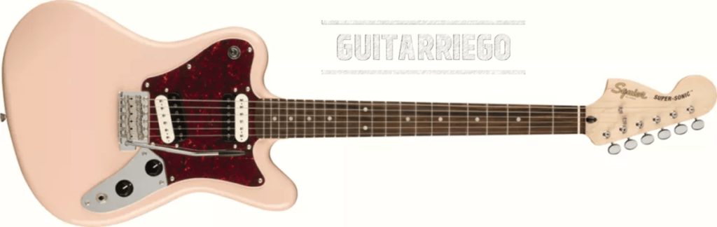 Squier Paranormal Super-Sonic Pink