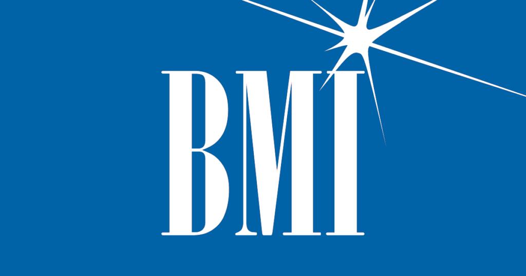 BMI - Broadcast Music Inc., la Organización de Derechos de Autor más grande del mundo, donde puedes registrar tus canciones para cobrar regalías.