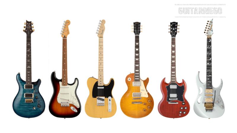 ¿Cuánto pesa una guitarra eléctrica? Peso de cada marca y modelo