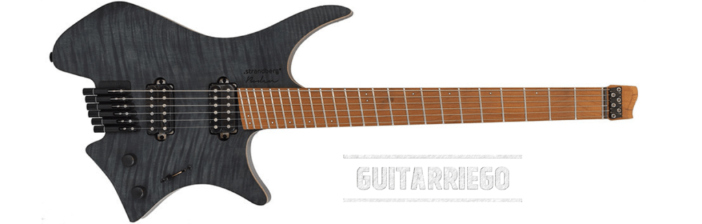 Strandberg Boden is the lightest weight electric guitar of our guide.